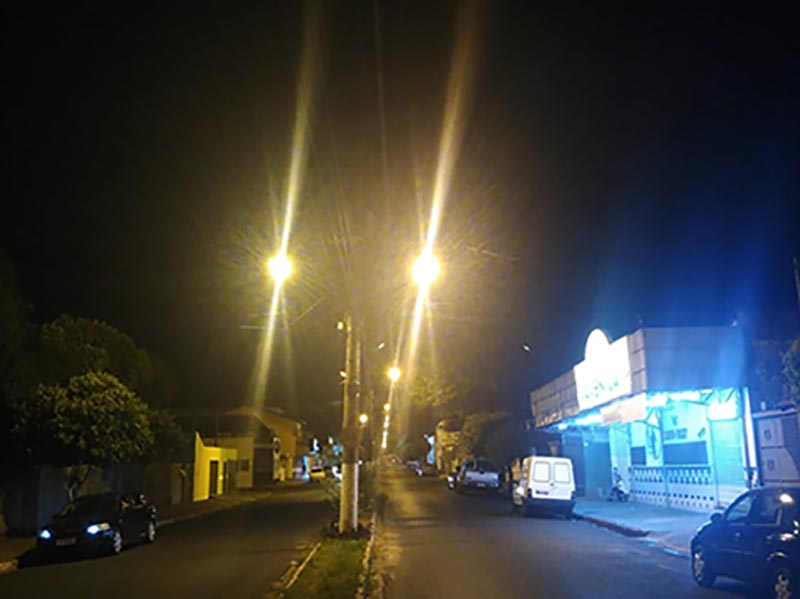 Energisa Sul-Sudeste investe R$ 460 mil em substituição de luminárias em Paraguaçu e região