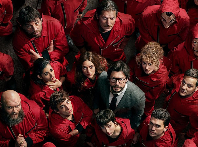 Parte 4 de La Casa de Papel já está disponível na Netflix
