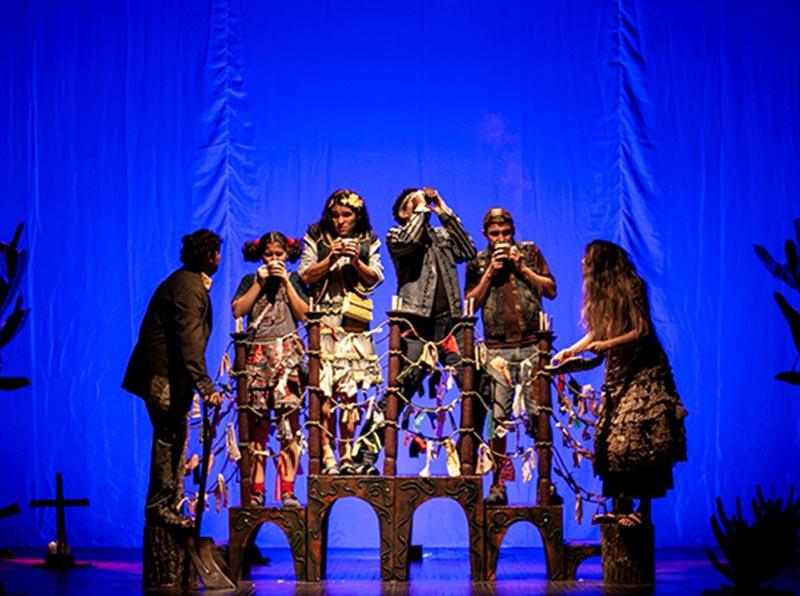 Sábado tem apresentação do Espetáculo 'A Lenda da Ponte' no Cine Teatro Municipal