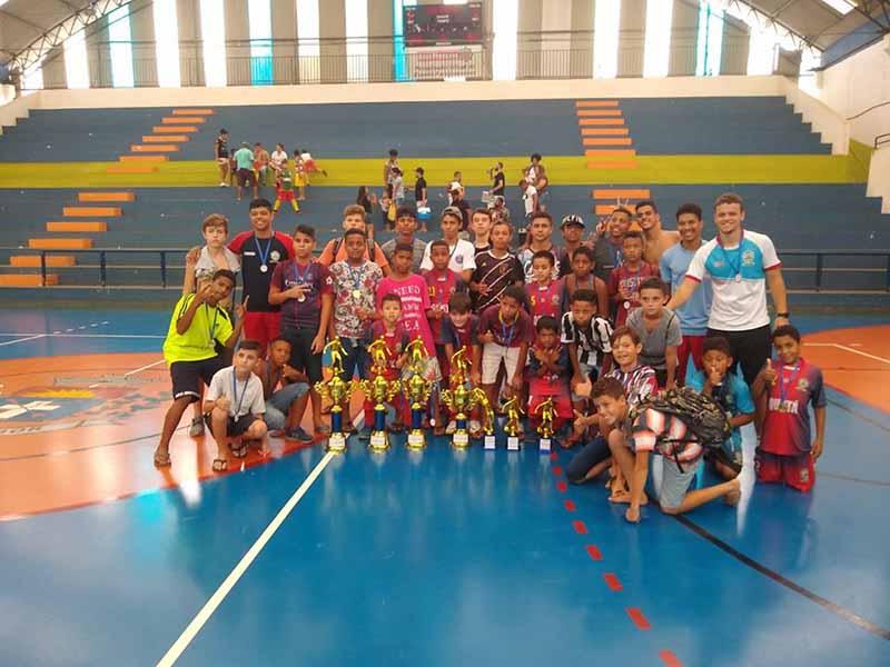 Futsal de Quatá conquista título de campeão em três categorias no Campeonato Regional em Paraguaçu