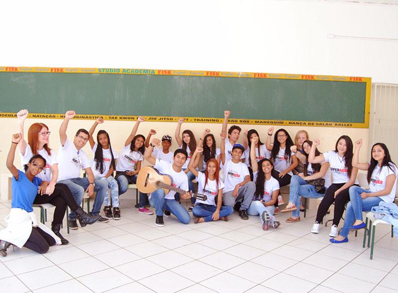 Cene dá exemplo em projeto de Superação desenvolvido com os alunos
