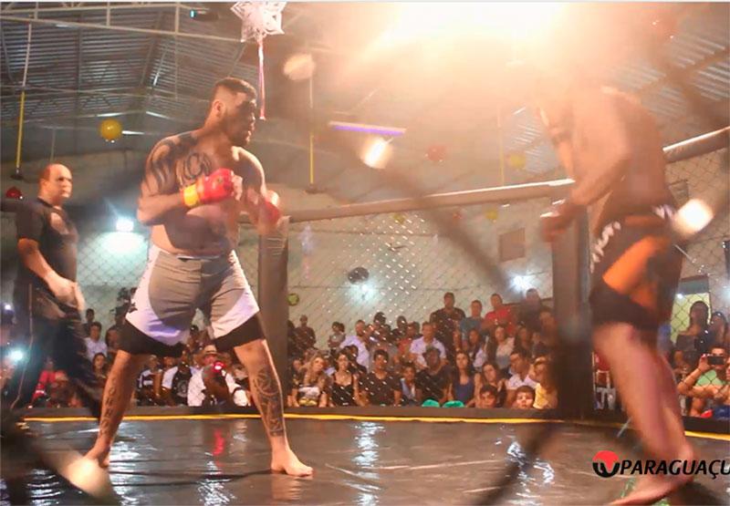 Emoção das grandes lutas de MMA toma conta de Paraguaçu Paulista