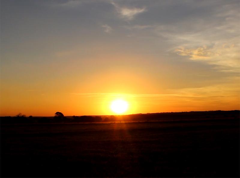 Existe por do sol mais lindo que o de Paraguaçu Paulista?