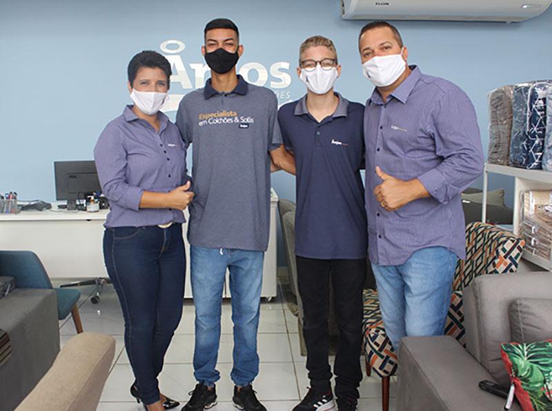 Janeiro é mês de renovação! Que tal renovar sua casa na Anjos Colchões de Paraguaçu Paulista?