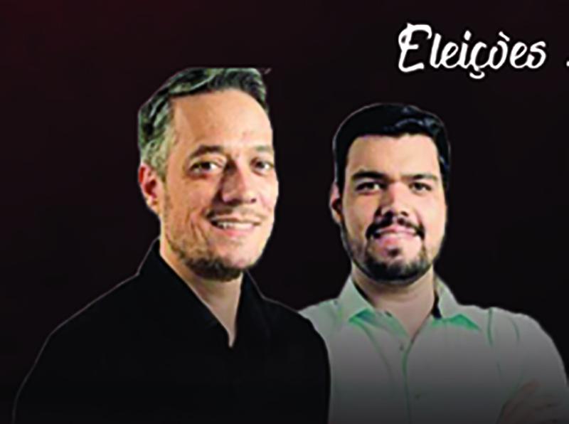Ian Salomão e Professor Vitor Bini, candidatos a prefeito e vice, serão entrevistados hoje