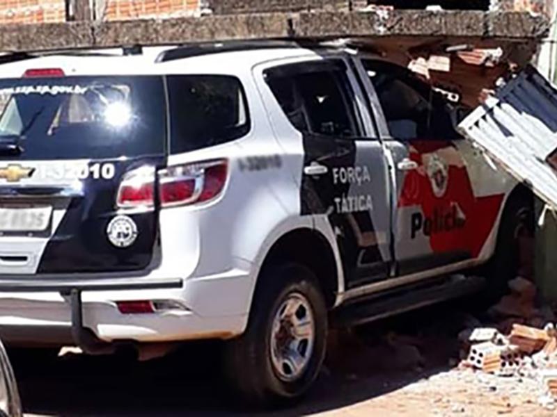 Mais uma viatura da PM se envolve em acidente em Assis
