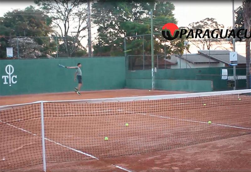 Tênis, esporte que ganha cada vez mais adeptos em Paraguaçu