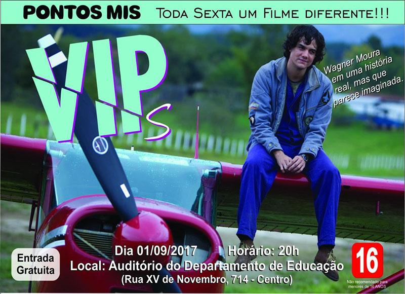 Filme VIPs, com Wagner Moura, será exibido nesta sexta em Paraguaçu