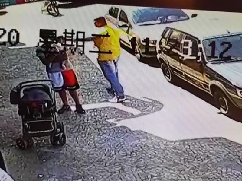 Segurança faz manobra e salva bebê engasgado com pedaço de banana em Tupã