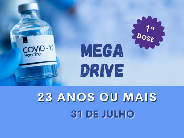 Amanhã tem drive de vacinação para maiores de 23 anos em Paraguaçu Paulista