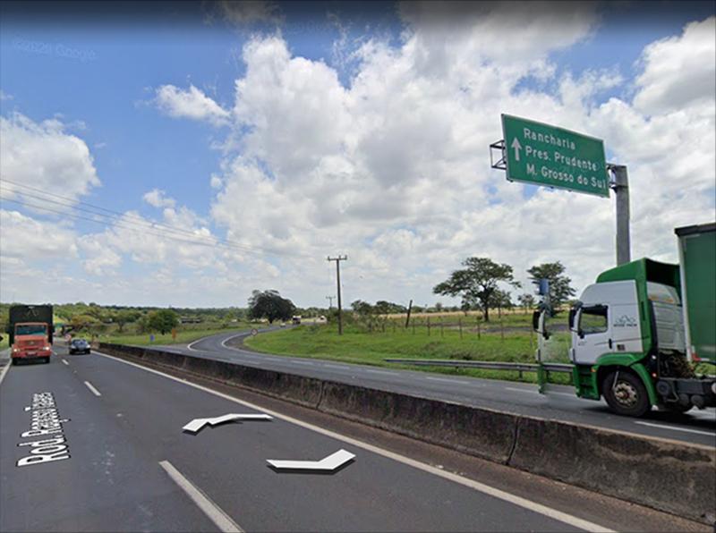 Alça de saída de Assis para Paraguaçu estará interditada para obras neste sábado