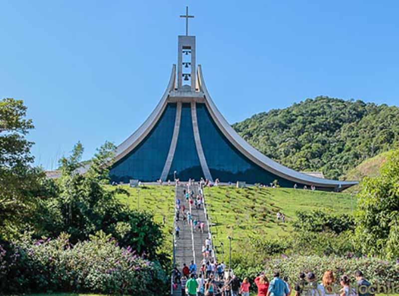 Já pensou em conhecer um dos mais belos santuários do Brasil?