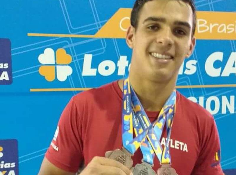 Atleta paraguaçuense é convocado para Seleção Brasileira que vai disputar o Parapan-Americano