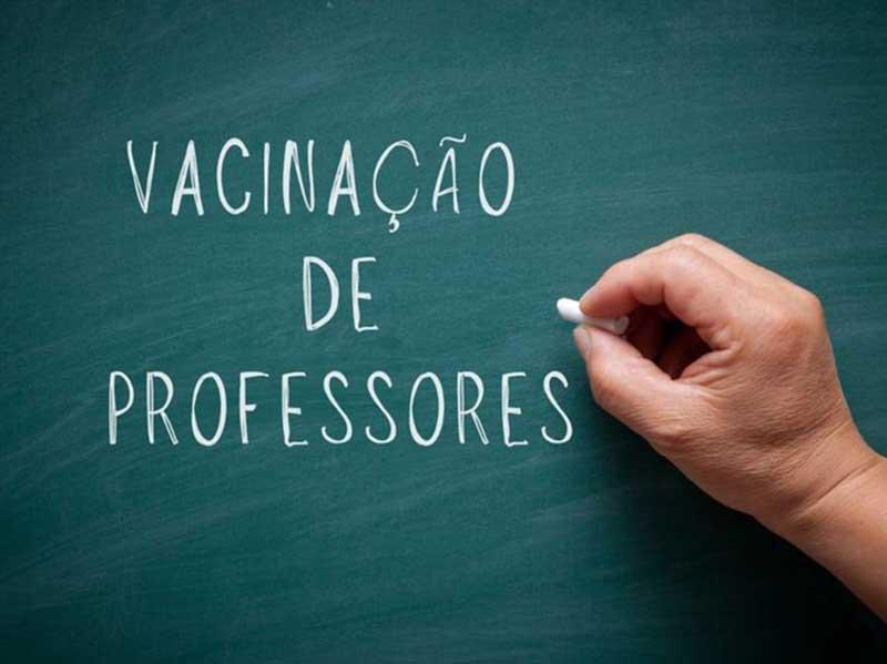 Professores de 18 a 44 anos serão vacinados neste sábado, em Paraguaçu
