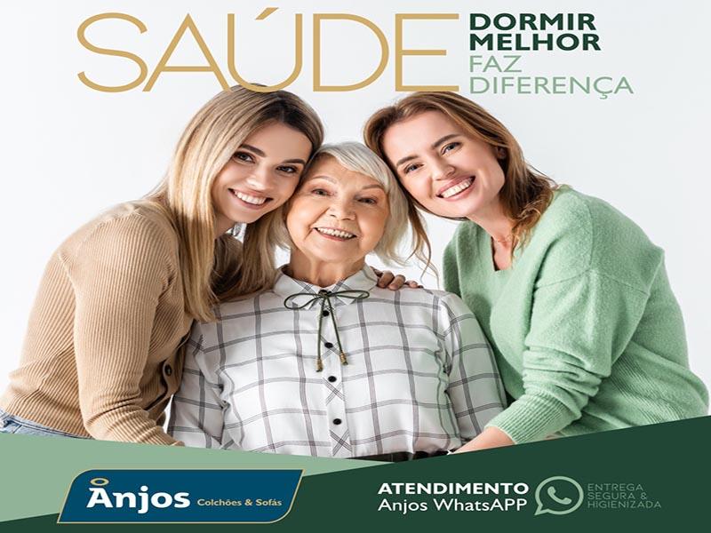 Abril - Mês da Saúde na Anjos Colchões