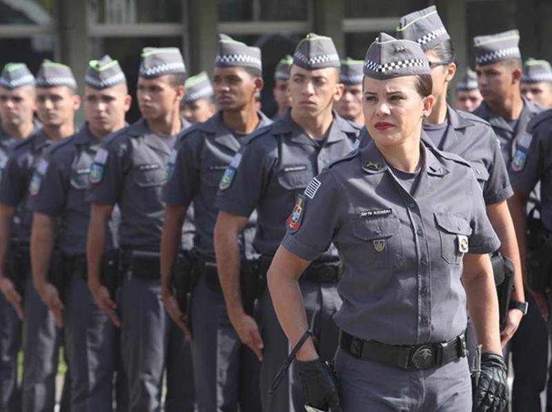 Polícia Militar de SP realiza concurso para 2.700 vagas de soldado