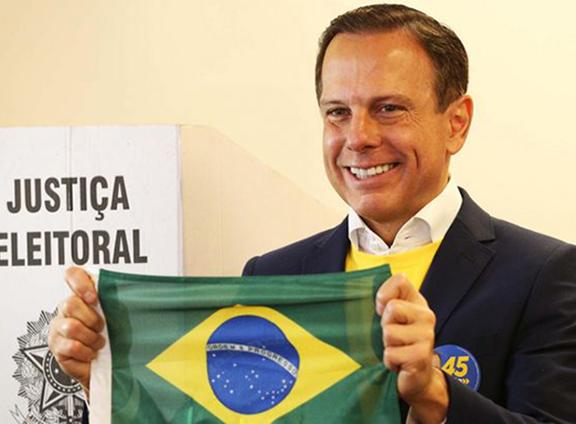 Preferido pelos paraguaçuenses, João Doria é eleito governador em São Paulo