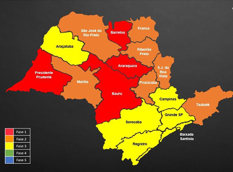 Estado rebaixa Quatá e João Ramalho para Fase Vermelha da Quarentena