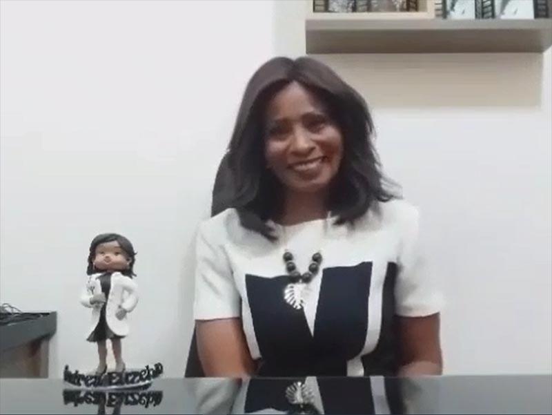 Andréa Euzébio, renomada psicóloga em Paraguaçu, ressalta a importância da educação em sua vida