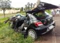 Idoso morre em colisão frontal entre carreta e carro em rodovia de Rancharia